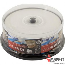 DVD+R Philips 8.5Gb cake(25) Printable