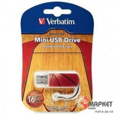 USB Флешка Verbatim StoreNGo 16 Gb Mini Basketball