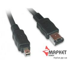 Кабель Firewire FWP-64-15 IEEE 1394 6P/4P
