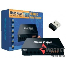 Тюнер T59D DVB-T2 + WiFi World Vision