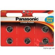 Батарейка CR 2032 Lithium Panasonic