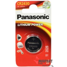 Батарейка CR 2430 Lithium Panasonic