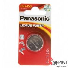 Батарейка CR 2450 Lithium Panasonic