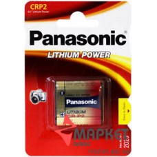 Батарейка CR-P2 Lithium Panasonic