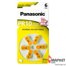 Батарейка ZA10 Zinc Air Panasonic