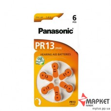 Батарейки ZA13 Zinc Air Panasonic