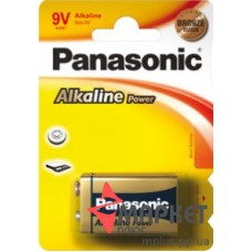 Батарейка 6F22 Alkaline Power Panasonic