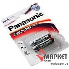 Батарейка R3 Alkaline Everyday Panasonic