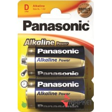 Батарейка R20 Alkiline Power Panasonic