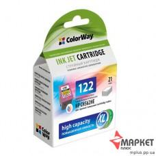 Картридж струменевий HP CW-H122XLC ColorWay