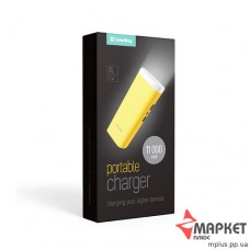 Powerbank Flashlight 11000 mAh Yellow ColorWay
