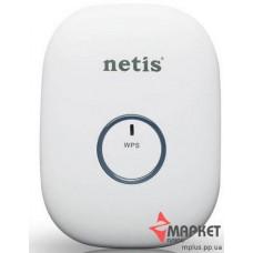Підсилювач безпровідного сигналу E1+White Range Extender Netis