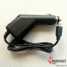 Зарядний пристрій автомобільний з кабелем microUSB Noname