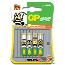 Батарейка 24AU Ultra Alkaline Міньйони C4 GP