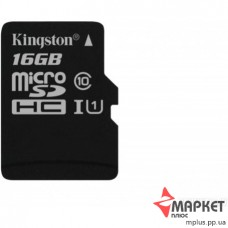 Карта пам'яті Kingston MicroSDHC 16 Gb UHS-1