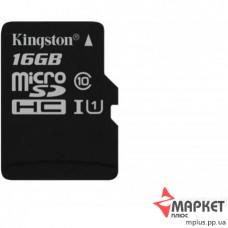 Карта пам'яті Kingston MicroSDHC 16 Gb UHS-1