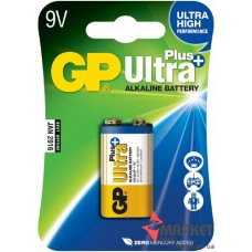 Батарейка 1604A Ultra Plus Alkaline C1 GP
