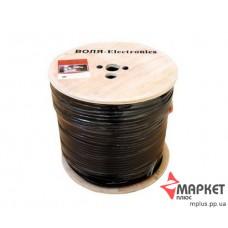 Коаксіальний кабель Dialan RG6U 48W CCS 1.02 мм чорний екран 48% 75 Ом 100 м