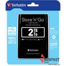 HDD Verbatim 2 Tb External 2.5'' USB 3.0