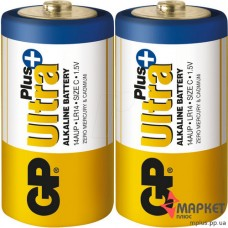 Батарейка 14AUP Ultra Plus Alkaline S2 GP