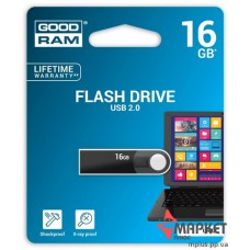 USB флешка GOODRAM URA2 16 Gb Black
