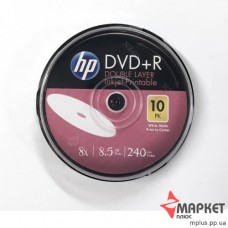 DVD+R HP 8x 8,5Gb cake(10)