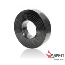 Коаксіальний кабель чорний 3C2V Cu 0.5 75 Ом 305 м Dialan