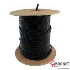 Коаксіальний кабель RG59 0,8 Cu чорний 305 м Dialan