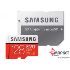 Карта пам'яті Samsung MicroSDXC 128 Gb UHS-1 U-3 + SD Evo