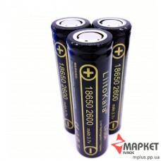 Акумулятор літієвий 18650 Litokala 3.7V 2600 mAh