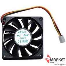 Вентилятор AtCool 7015 70x70x15мм, 3 pin
