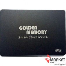 """SSD 480GB GOLDEN MEMORY 2.5"""""""