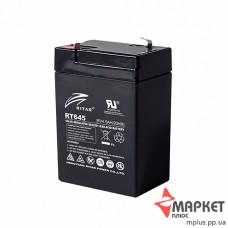 Акумулятор свинцевий RT645 (6V 4.5A) Ritar