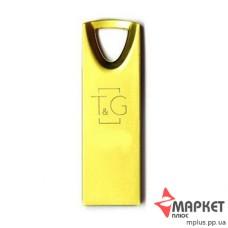 USB Флешка Metal 117 8 GB T&G Gold