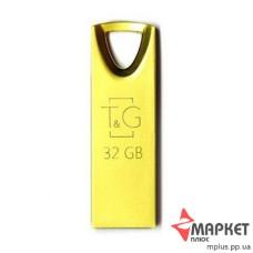 USB Флешка Metal 117 32 GB T&G Gold