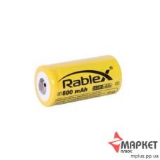 Акумулятор літієвий16340 800 mAh Rablex