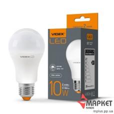 Лампочка LED A60e 10W 4100K  з сенсором освітленості Videx