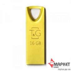 USB Флешка Metal 117 16 GB T&G Gold