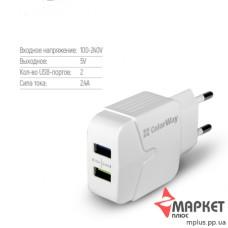 Зарядний пристрій CW-CHS004-WT ColorWay