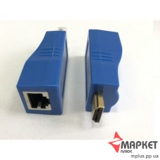 HDMI Extender Подовжувач сигналу по витій парі на 30 метрів Atcom