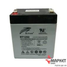 Акумулятор свинцевий RT1250 (12V 5A) Ritar