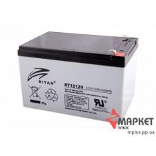 Акумулятор свинцевий RT12120 (12V 12A) Ritar
