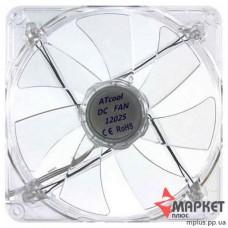Вентилятор AtCool 12025 LED підсвітка блакитна