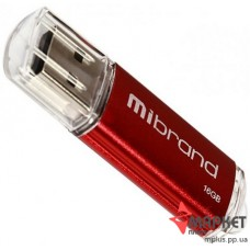 USB Флешка Mibrand Cougar 16 GB Red