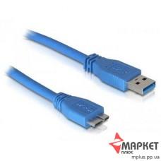 Кабель USB3.0 AM to Micro-B USB для зовнішнього HDD 1.8м Atcom
