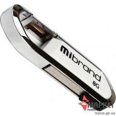USB Флешка Mibrand Aligator 8 GB White