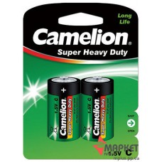 Батарейка R14 Green C2 Camelion