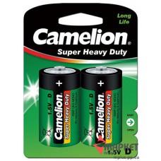 Батарейка R20 Green C2 Camelion