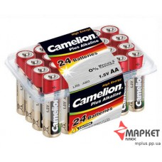 Батарейка LR6 Plus alkaline 24pack Camelion