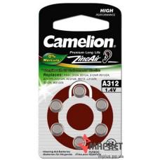 Батарейка A312 Camelion